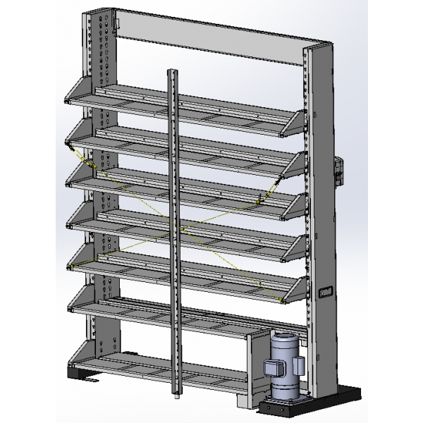 Backside Panel Storage set of PA12-6